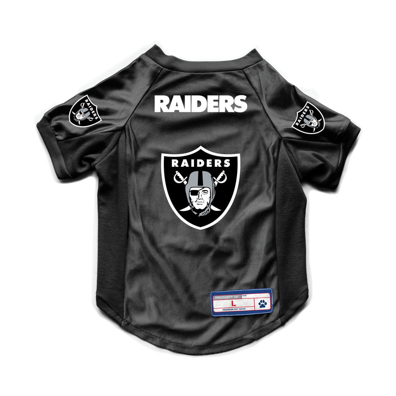 Las Vegas Raiders Pet Jersey Stretch Size S