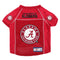 Alabama Crimson Tide Pet Jersey Size M