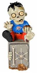Oklahoma City Thunder Zombie Figurine - On Logo