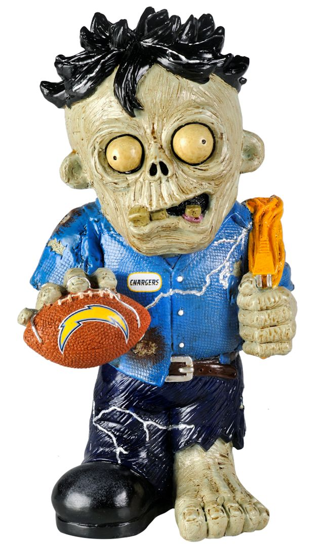 San Diego Chargers Zombie Figurine - Thematic