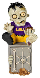 LSU Tigers Zombie Figurine Bank