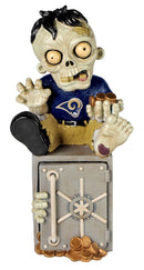 Los Angeles Rams Zombie Figurine Bank