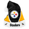 Pittsburgh Steelers Santa Hat Colorblock - Special Order