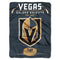 Vegas Golden Knights Blanket 60x80 Raschel Inspired Design