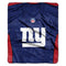 New York Giants Blanket 50x60 Raschel Jersey Design
