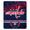 Washington Capitals Blanket 50x60 Fleece Fade Away Design