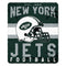 New York Jets Blanket 50x60 Fleece Singular Design