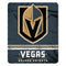 Vegas Golden Knights Blanket 50x60 Fleece Fade Away Design
