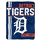 Detroit Tigers Blanket 46x60 Micro Raschel Walk Off Design Rolled