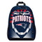 New England Patriots Backpack Lightning Style - Special Order