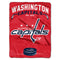 Washington Capitals Blanket 60x80 Raschel Inspired Design - Special Order