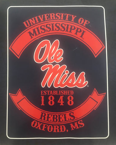 NCAA - Mississippi Rebels - Home & Office