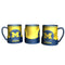 Michigan Wolverines Coffee Mug - 18oz Game Time (New Handle)