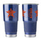 Houston Astros Travel Tumbler 20oz Ultra Silver