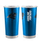 Carolina Panthers Travel Tumbler 20oz Ultra Black