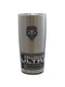 New Mexico Lobos Travel Tumbler 20oz Ultra Silver