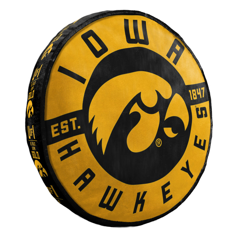 Iowa Hawkeyes Pillow Cloud to Go Style