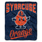 Syracuse Orange Blanket 50x60 Raschel Alumni Design - Special Order