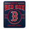 Boston Red Sox Blanket 50x60 Fleece Southpaw Design