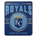 Kansas City Royals Blanket 50x60 Fleece Southpaw Design