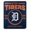 Detroit Tigers Blanket 50x60 Fleece Southpaw Design