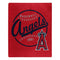 Los Angeles Angels Blanket 50x60 Raschel Moonshot Design
