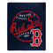 Boston Red Sox Blanket 50x60 Raschel Moonshot Design