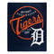 Detroit Tigers Blanket 50x60 Raschel Moonshot Design