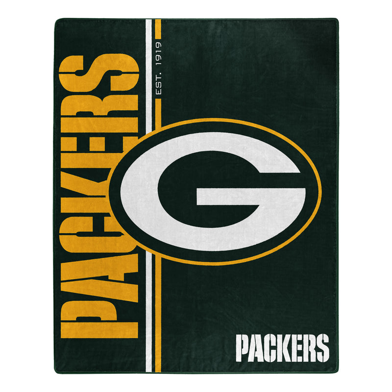 Green Bay Packers Blanket 50x60 Raschel Restructure Design