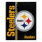 Pittsburgh Steelers Blanket 50x60 Raschel Restructure Design