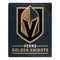 Vegas Golden Knights Blanket 50x60 Raschel Interference Design