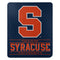 Syracuse Orange Blanket 50x60 Fleece Control Design