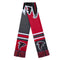 Atlanta Falcons Scarf Colorblock Big Logo Design