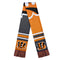 Cincinnati Bengals Scarf Colorblock Big Logo Design