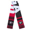 Georgia Bulldogs Scarf Colorblock Big Logo Design