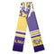 LSU Tigers Scarf Colorblock Big Logo Design
