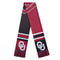 Oklahoma Sooners Scarf Colorblock Big Logo Design