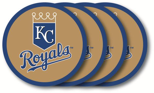 Kansas City Royals Coaster Set - 4 Pack