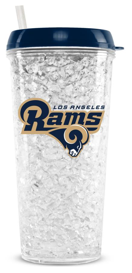 Los Angeles Rams Crystal Freezer Tumbler - Special Order