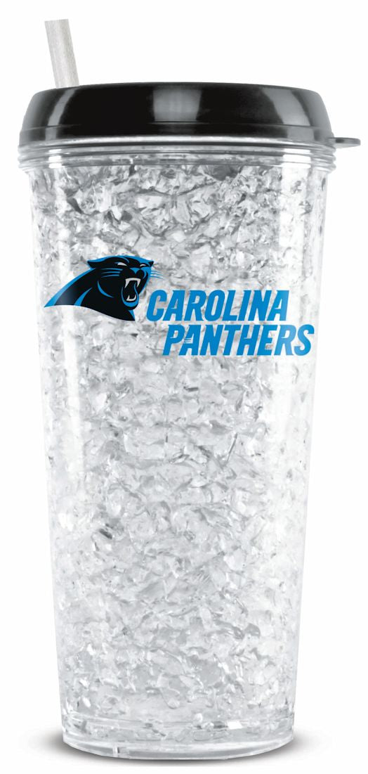 Carolina Panthers Crystal Freezer Tumbler - Special Order