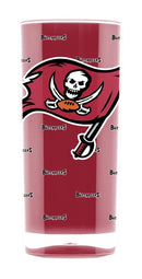 Tampa Bay Buccaneers Tumbler - Square Insulated (16oz)