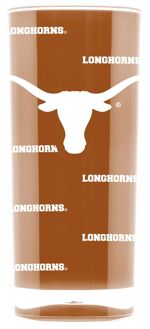 Texas Longhorns Tumbler - Square Insulated (16oz)