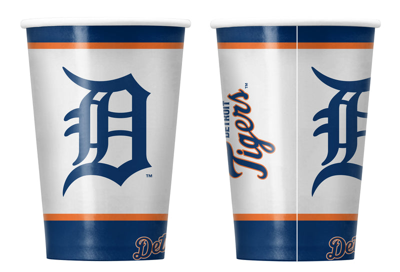 Detroit Tigers Disposable Paper Cups