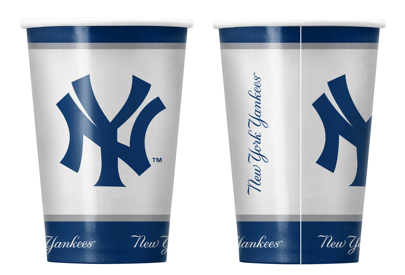 New York Yankees Paper Cups Disposable