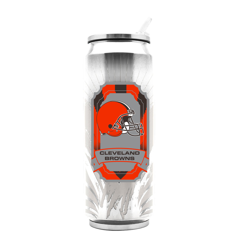 Cleveland Browns Stainless Steel Thermo Can - 16.9 ounces