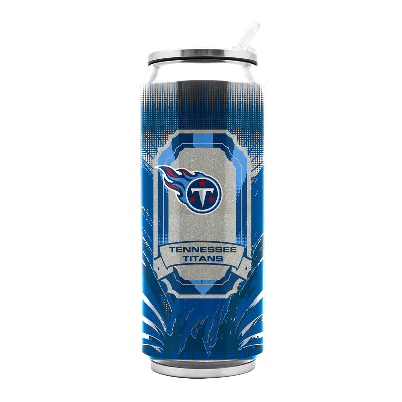 Tennessee Titans Stainless Steel Thermo Can - 16.9 ounces - Special Order