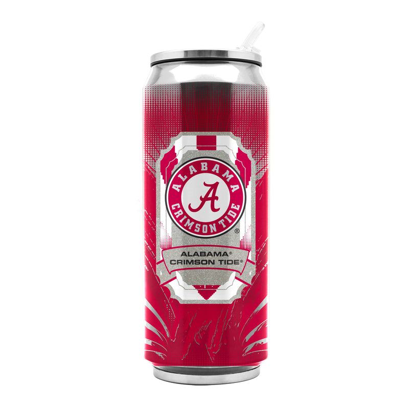 Alabama Crimson Tide Stainless Steel Thermo Can - 16.9 ounces