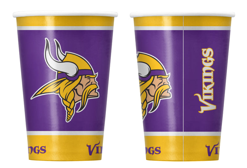 Minnesota Vikings Disposable Paper Cups