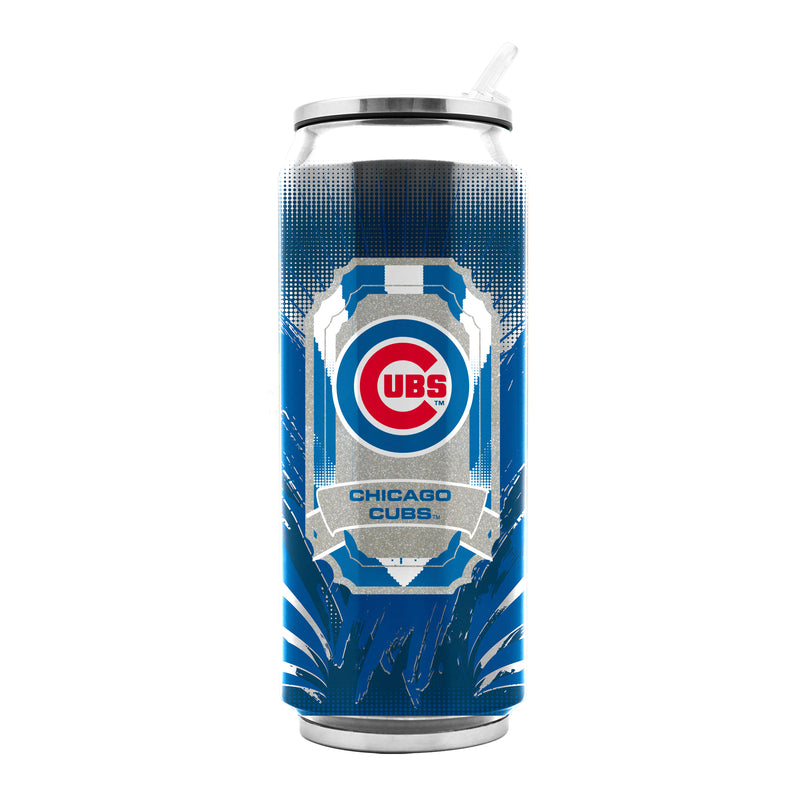 Chicago Cubs Stainless Steel Thermo Can - 16.9 ounces