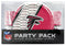 Atlanta Falcons Party Pack 80 Piece